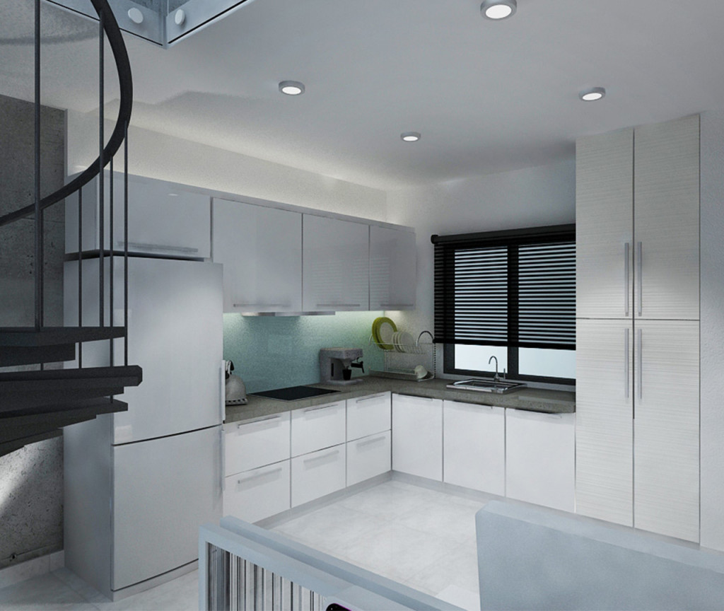 Type C (Work) - Duplex (Kitchen)