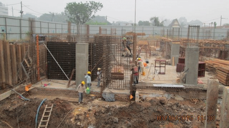 Oct 2015 - Sub-basement Slab and Wall