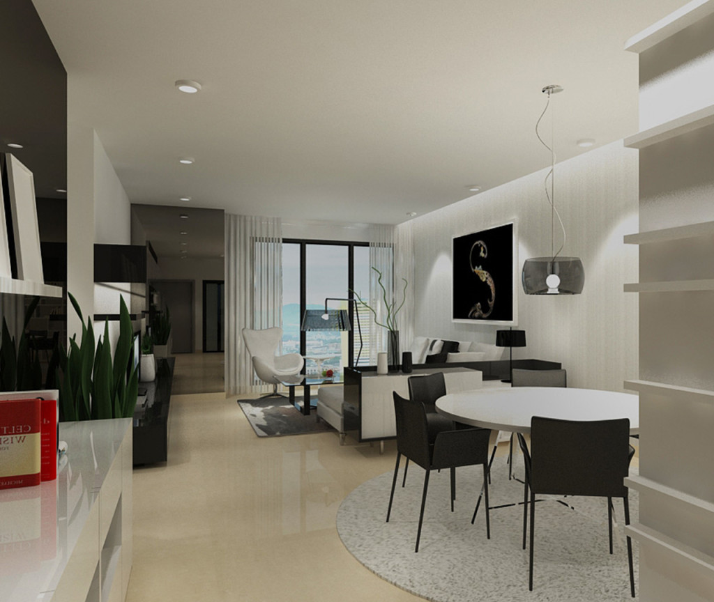 Type A - 3 Rooms Apartment (Dining Hall)