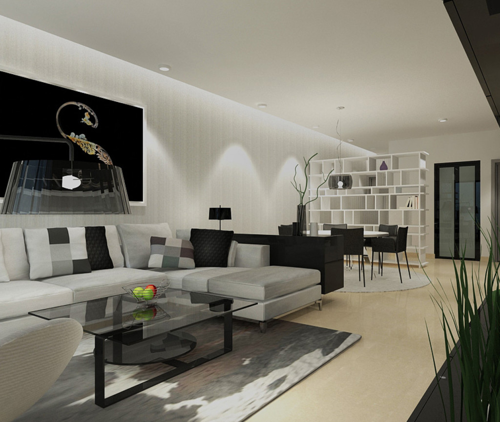 Type A - 3 Rooms Apartment (Living Hall)