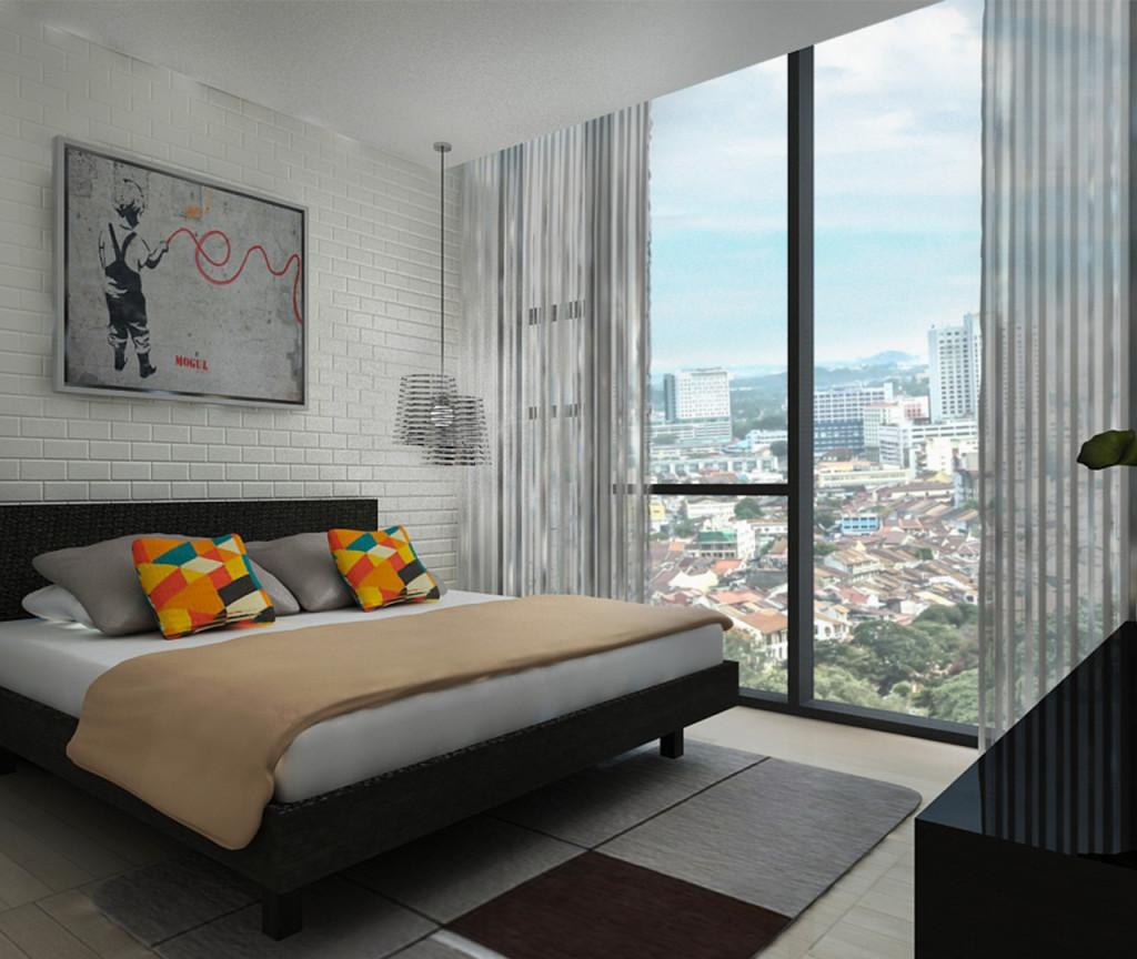 Type C (Living) - Duplex (Bedroom)