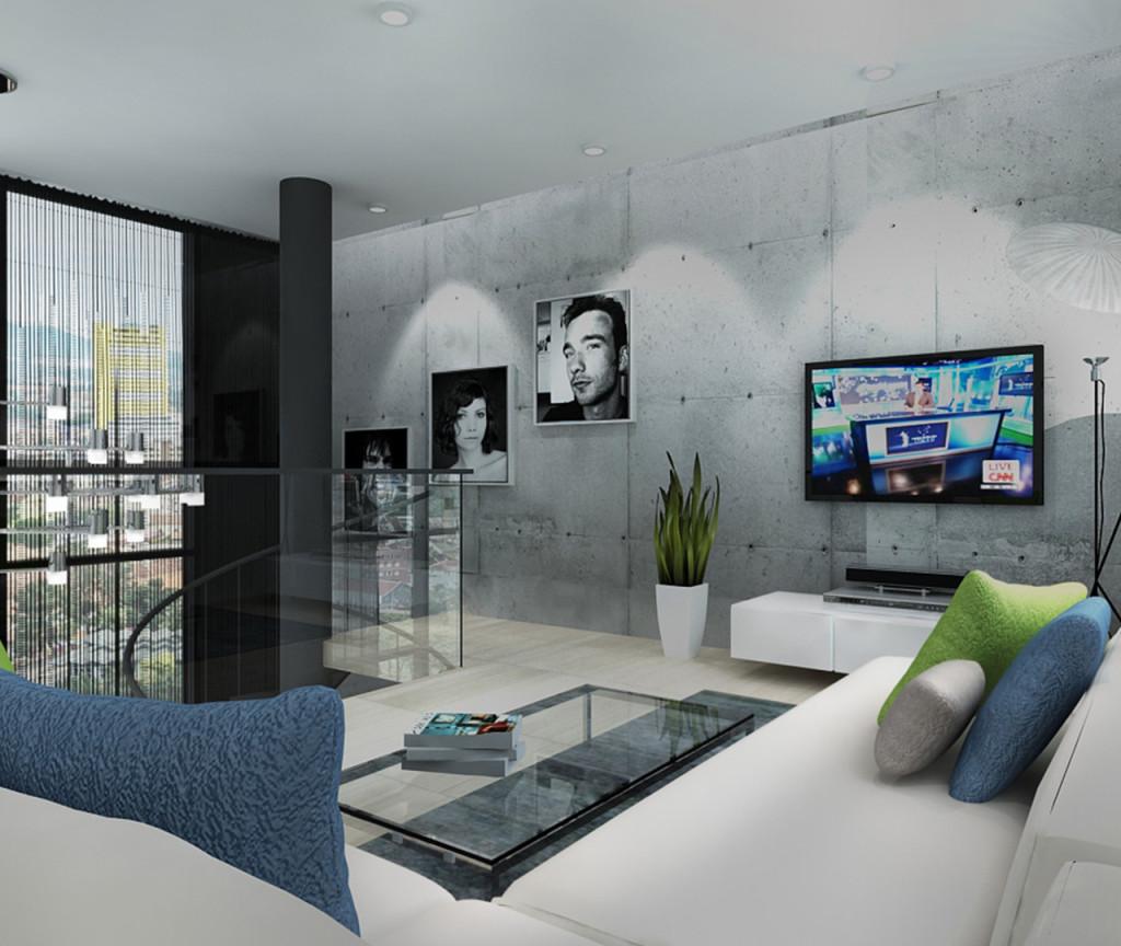 Type C (Living) - Duplex (Living Hall)