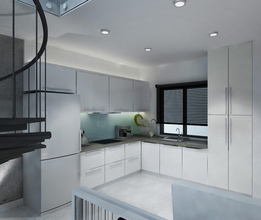 Type C (Work) - Duplex (Kitchen)