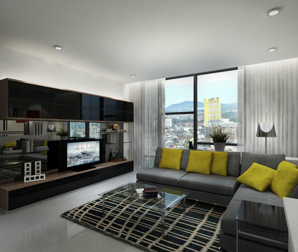 Type C1 - Studio 1 Room (Living Hall)