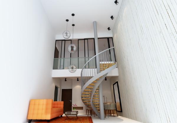 Type C - Duplex Living Hall