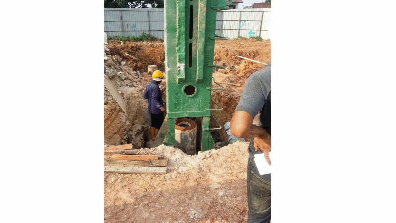 Aug 2015 - Progressive Construction of Foundation