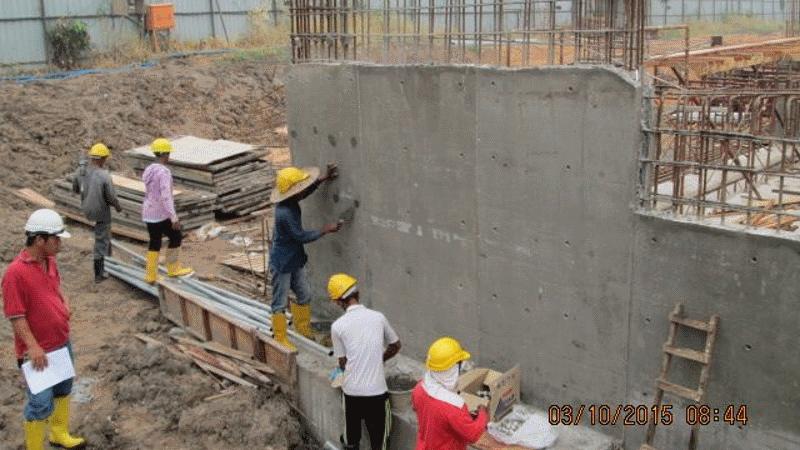 Oct 2015 - Sub-basement Slab and Wall