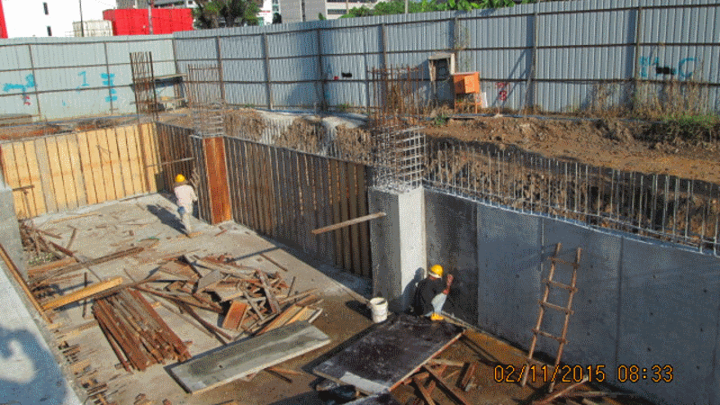 Nov 2015 - Sub-basement Slab and Wall