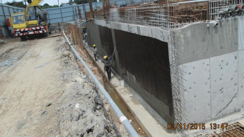 Nov 2015 - Sub-basement Slab and Wall