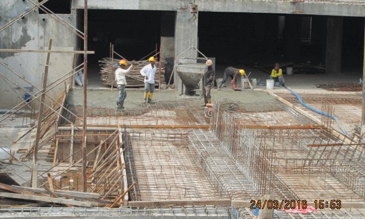Mar 2016 - Sub-basement retaining wall 1